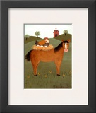 Horse with Hen