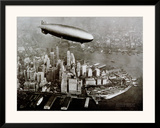 Zeppelin Over New York
