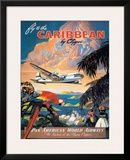 Pan American: Fly to the Caribbean by Clipper  c1940s