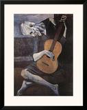 The Old Guitarist  c1903