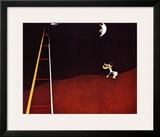 Dog Barking at the Moon