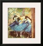 Dancers in Blue  c1895