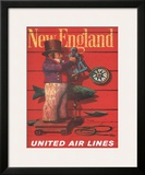 United Air Lines: New England  c1955