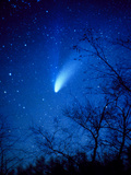Optical Image of Comet Hale-Bopp  6 April 1997