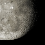 The Moon From Space  Artwork