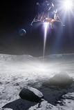 Apollo 11 Moon Landing  Artwork