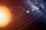 Solar System Orbits  Artwork