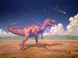 Tyrannosaurus Rex with Meteorites