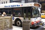 Hybrid Bus In Chicago