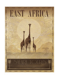 East Africa Giclée premium par Ben James