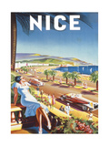 Nice Giclée premium par De'Hey
