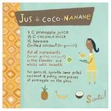 Banana-Coconut Juice