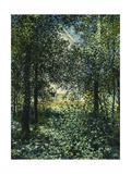 Thicket: The House of Argenteuil Giclée par Claude Monet