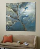 Bleu Toile Murale Géante par Kathleen Cloutier