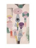Thistle Bloom Giclée par Paul Klee