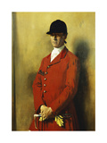 Portrait of Captain Marshall Roberts  Master of the Fox Hounds