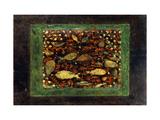 Aquarium Giclée par Paul Klee