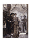 Scenes from Romeo and Juliet: The Ball Scene (I, V) Giclée par Frank Bernard Dicksee