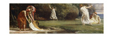 Nausicaa and her Maidens playing at Ball