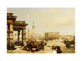 View of St Marks from the Punta Della Dogana  Venice