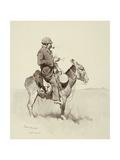 Jack's Man William, A Modern Sancho Panza Giclée par Frederic Sackrider Remington