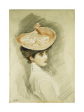 Portrait of a Lady  thought to be Madame Helleu