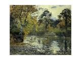 The Pond at Montfoucault