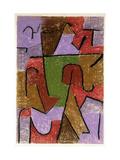Indianisch Giclée par Paul Klee