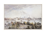 A View of Stockholm from Kungsholmen with the Royal Palace and Storkyrkan etc