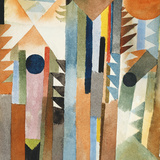 The Forest that Grew from the Seed Giclée par Paul Klee