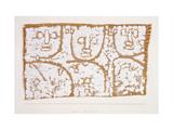 Three Figures Giclée par Paul Klee