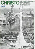 Barcelona-Verpacktes Kolumbus Denkmal