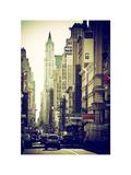 Urban Scene  401 Broadway  Soho  Manhattan  NYC  White Frame