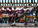 Subway Station, Williamsburg, Brooklyn, New York, United States Papier Photo par Philippe Hugonnard