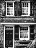 Elfreth Trinity Houses  Elfreth's Alley  Philadelphia  Pennsylvania  US