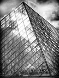 Grande Pyramide at the Louvre Museum  Paris  France