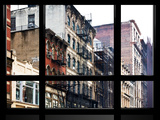 Window View  Special Series  Soho Building  Manhattan  New York City  United States