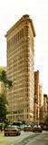 Vertical Panoramic of Flatiron Building and 5th Ave  Manhattan  Sunset  New York City  US