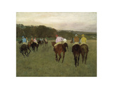 Racehorses at Longchamp  1871