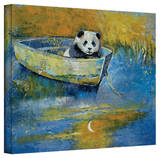 Michael Creese 'Panda Sailor' Gallery-Wrapped Canvas