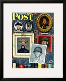 """Willie Gillis Generations"" Saturday Evening Post Cover  September 16 1944"