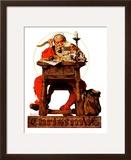 """Santa at His Desk""  December 21 1935"