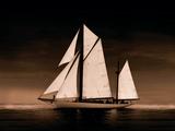 Sailing Off Sepia