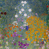 Flower Garden Giclée par Gustav Klimt