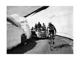Charly Gaul in a Climb During the 42nd Giro D'Italia