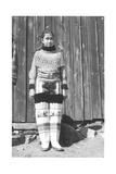 Inuit Girl Posing