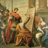 Apelles Making a Portrait of Pancaspe