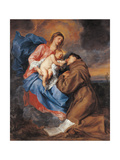 The Madonna with Child and St Anthony of Padua