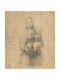 Madonna and Child at Two Thirds Figure