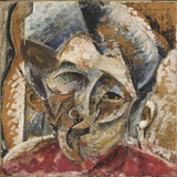 Dynamism of a Woman's Head or Head of a Woman or Decomposition of a Woman's Head